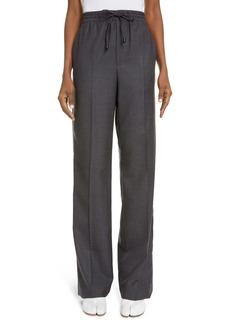 Maison Margiela Flannel Pull-On Pants