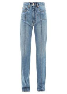 Maison Margiela Front seam straight-leg denim jeans