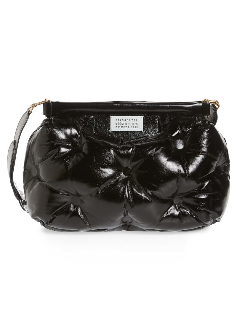 Maison Margiela Glam Slam Leather Convertible Crossbody Bag