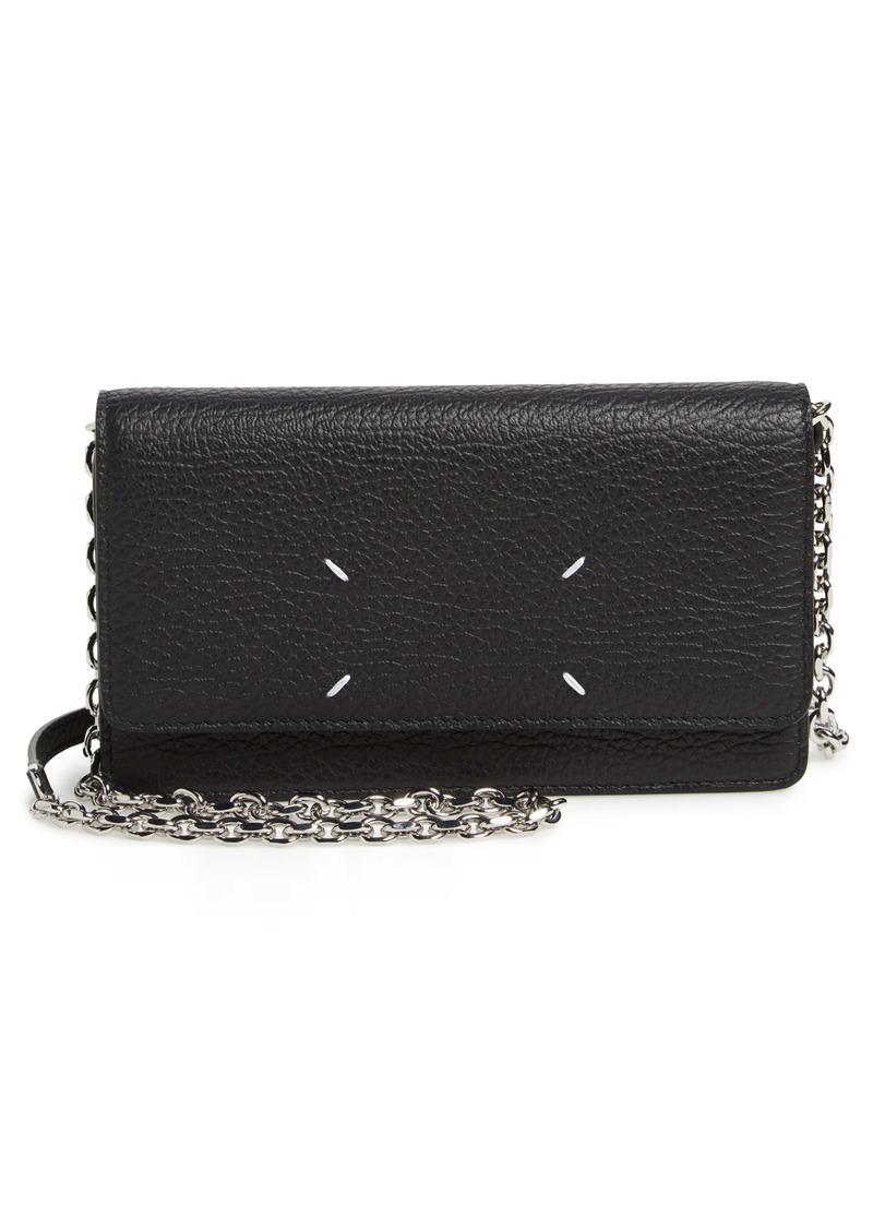 Maison Margiela Glam Slam Leather Wallet on a Chain