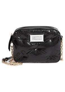Maison Margiela Glam Slam Patent Faux Leather Camera Bag