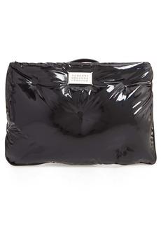 Maison Margiela Glam Slam Patent Faux Leather Wristlet