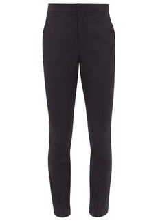Maison Margiela High-rise slim-fit gabardine trousers
