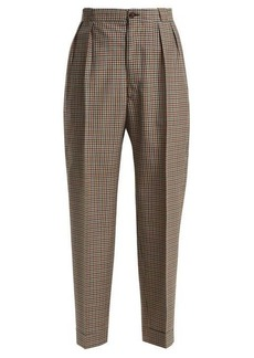 Maison Margiela High-waist tweed trousers