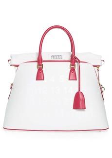 Maison Margiela Large 5AC Color Change UV Leather Handbag