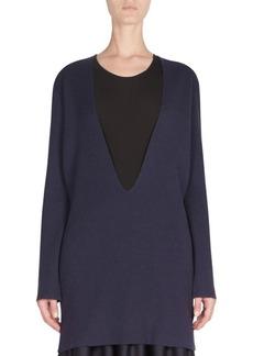 Maison Margiela Deep V-Neck Sweater
