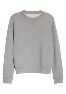 Maison Margiela Logo Embroidered Sweatshirt