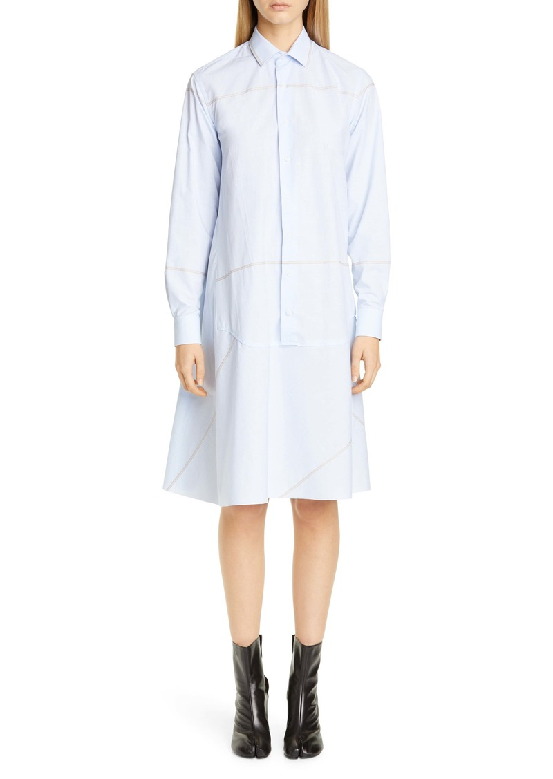 Maison Margiela Long Sleeve Cotton Shirtdress