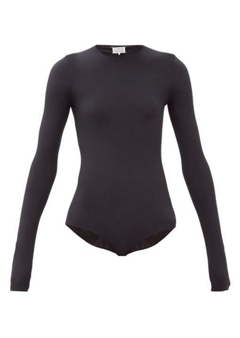 Maison Margiela Long-sleeved stretch-jersey bodysuit