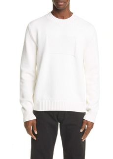 Maison Margiela Memory Of Label Crewneck Sweater