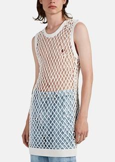 Maison Margiela Men's Fishnet-Knit Sleeveless Tank