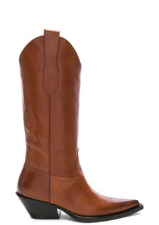 Maison Margiela Mid Leather Western Boots