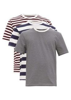 Maison Margiela Pack of three cotton jersey T-shirts