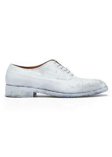 Maison Margiela Painted leather oxford shoes