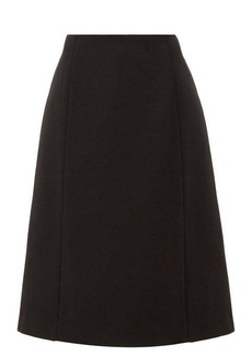 Maison Margiela Panelled twill skirt