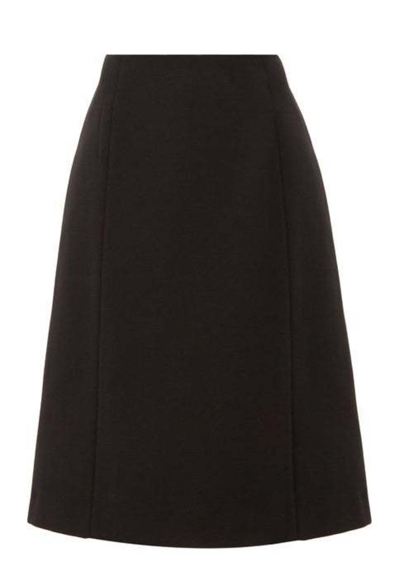 Maison Margiela Panelled twill skirt