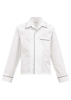Maison Margiela Patch-pocket cotton shirt