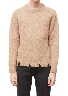 Maison Margiela Pilled & Ripped Crewneck Sweater