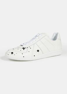 Maison Margiela Pollock Grainy Leather Sneakers
