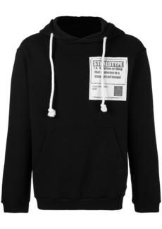 Maison Margiela printed drawstring hoodie
