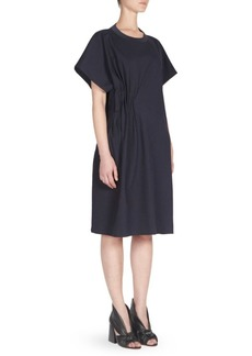 Maison Margiela Punto Milano Jersey Cotton Dress