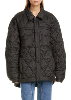 Maison Margiela Quilted Matte Puffer Jacket
