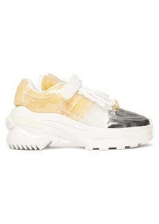 Maison Margiela Retro Fit exposed-foam PVC trainers
