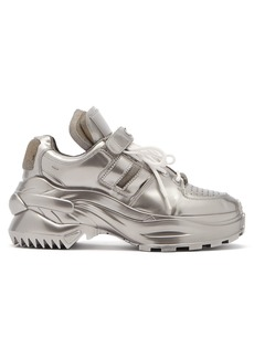 Maison Margiela Retro Fit laminated trainers