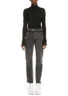 Maison Margiela Rib Wool Turtleneck Sweater