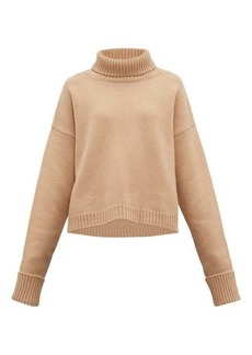 Maison Margiela Roll-neck wool-blend sweater