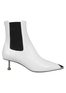 Maison Margiela Screw Kitten Heel Ankle Boots