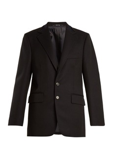 Maison Margiela Single-breasted wool and mohair-blend jacket