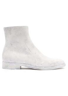 Maison Margiela Sirya coated-leather ankle boots