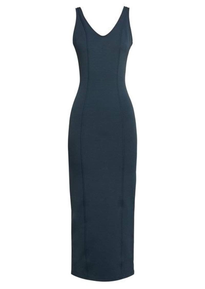 Maison Margiela Sleeveless double-faced jersey dress