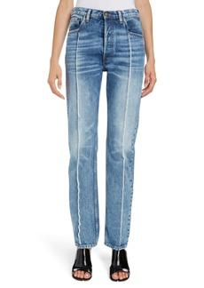 Maison Margiela Splice Straight Leg Jeans