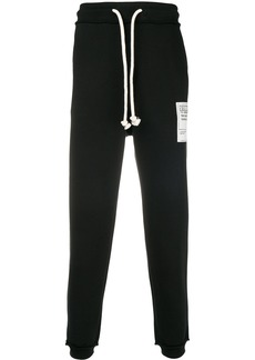 Maison Margiela Stereotype patch drawstring trousers