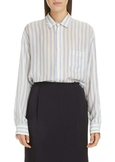 Maison Margiela Stripe Button-Up Shirt