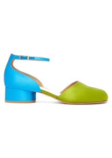 Maison Margiela Tabi bi-colour split-toe pumps