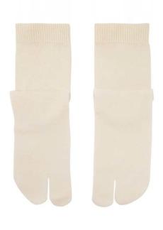 Maison Margiela Tabi split-toe cotton-blend jersey socks