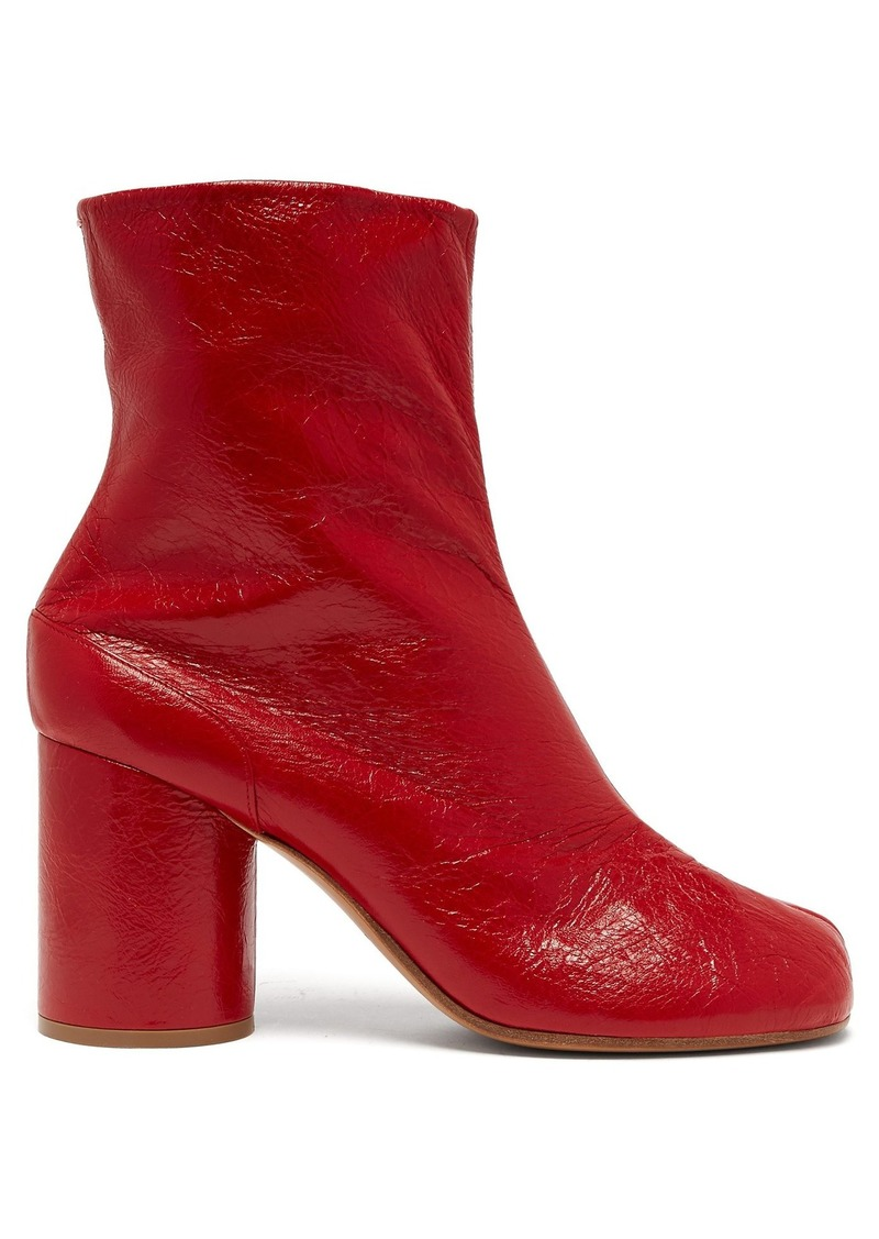 95c15443f35 Maison Margiela Maison Margiela Tabi split-toe leather ankle boots ...