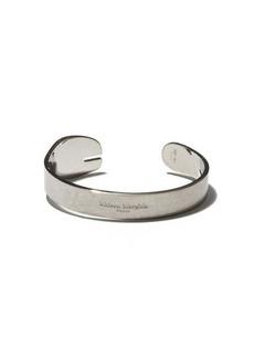 Maison Margiela Tabi tarnished sterling-silver cuff