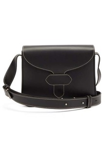 Maison Margiela Topstitched leather cross-body bag