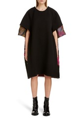 Maison Margiela Vibrant Jacquard Back Short Sleeve Dress