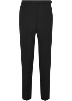 Maison Margiela Woman Crepe Slim-leg Pants Black