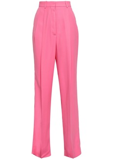 Maison Margiela Woman Crepe Wide-leg Pants Bubblegum