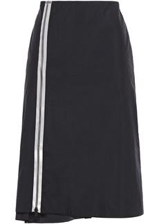 Maison Margiela Woman Zip-detailed Shell Skirt Black