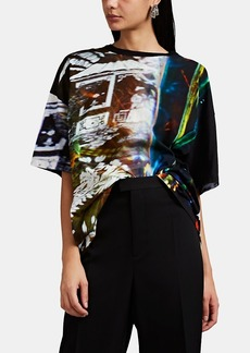 Maison Margiela Women's Abstract-Print Cotton T-Shirt