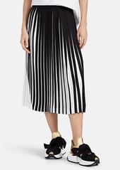 Maison Margiela Women's Cady Pleated Skirt