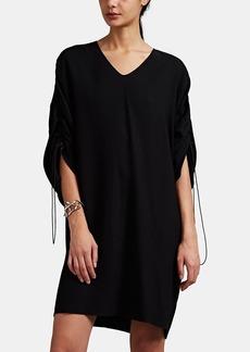 Maison Margiela Women's Crepe Drawstring Shift T-Shirt Dress