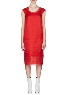 Maison Margiela Women's Layered Silk Shift Dress